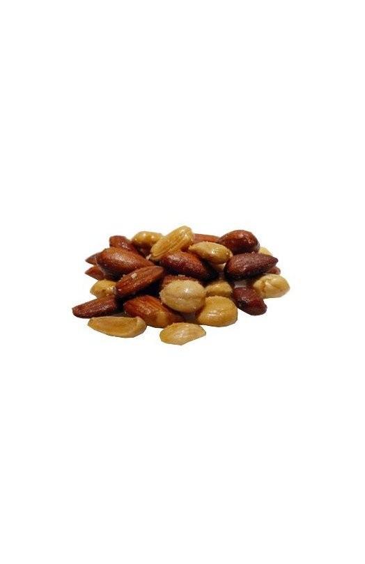 750 gram Salt ristede valencia mandler Mix