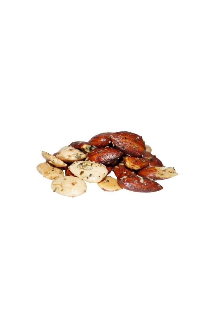 100 gram Salt/mix Provence saltristede mandler