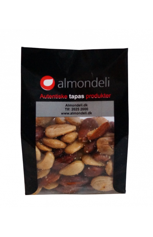 100 gram Salt/mix Almondeli saltristede