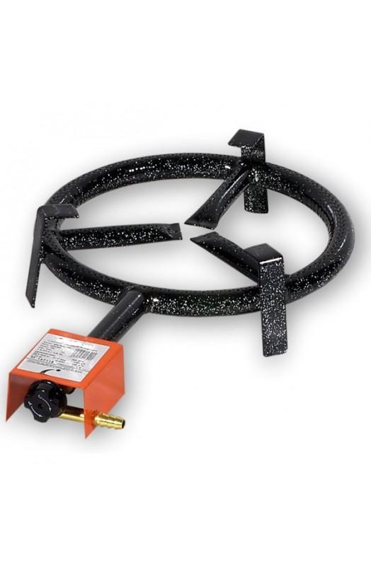 Brænde sæt med 1 ring og midtervarme og ben Ø 30 cm