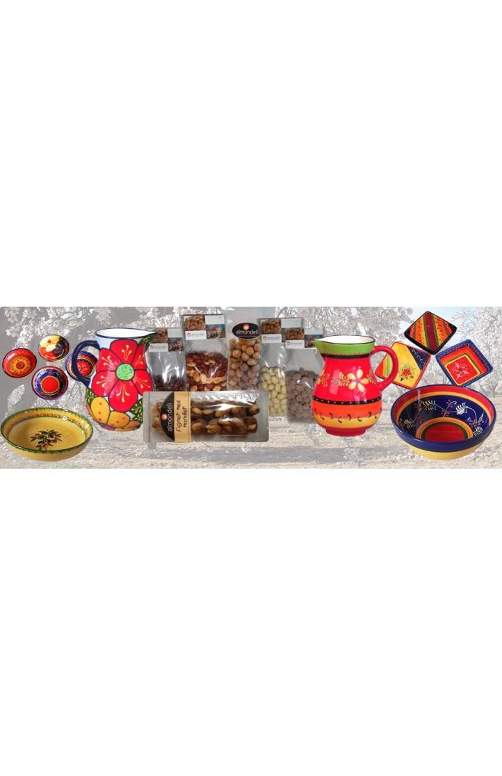 Almondeli gavekurv Ceramica